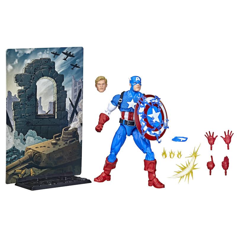 Hasbro Marvel Legends 20th Anniversary Captain America Figure
