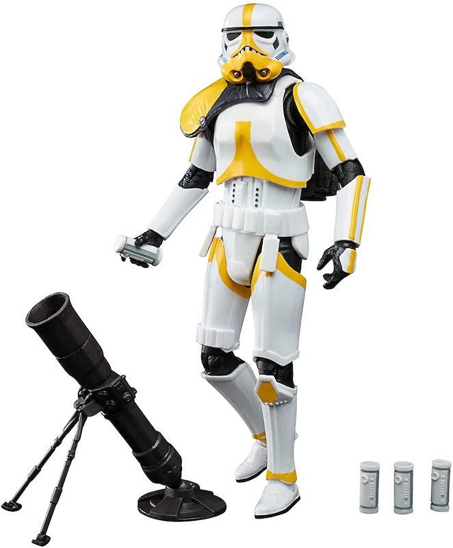Hasbro Star Wars The Black Series 6″ The Mandalorian Artillery Stormtrooper Figure Pre-Orders