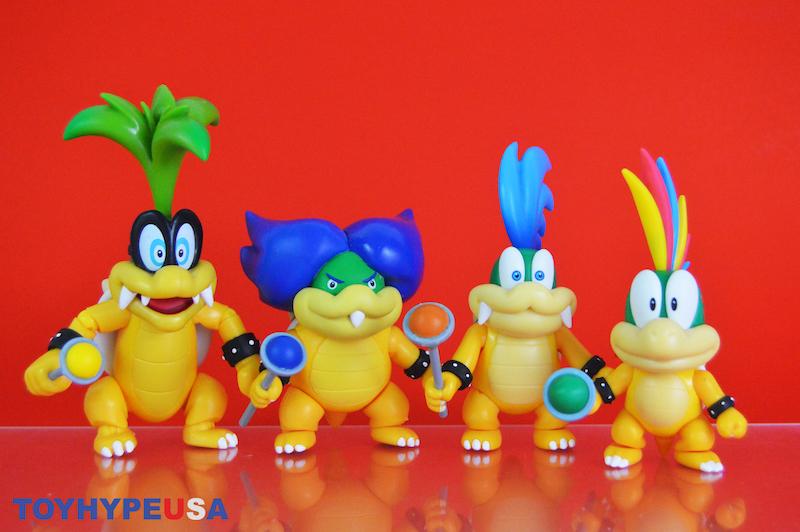 Jakks Pacific – World of Nintendo 4″ Larry Koopa Figure Review
