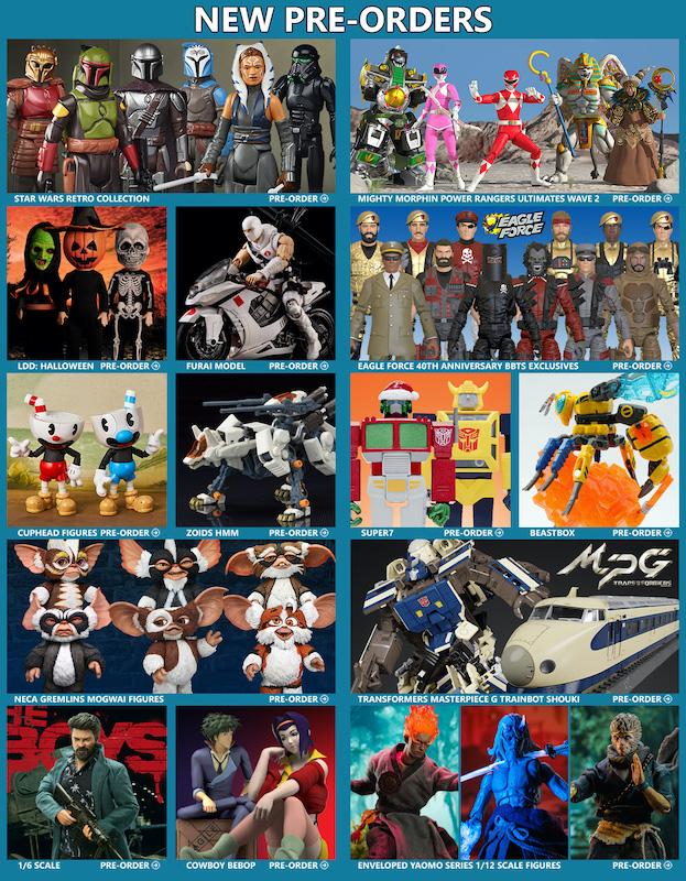 BigBadToyStore News – Star Wars, MMPR, G.I. Joe, Gremlins, Eagle Force, Transformers, DBZ, Marvel Legends, NECA, TMNT & More