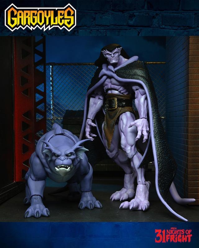 NECA Toys 31 Nights of Fright Reveal – Gargoyles Bronx Figure