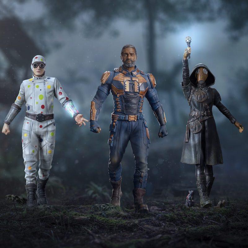 Iron Studios – The Suicide Squad – Ratcatcher II, Polka-Dot Man, & Bloodsport Statues Pre-Orders