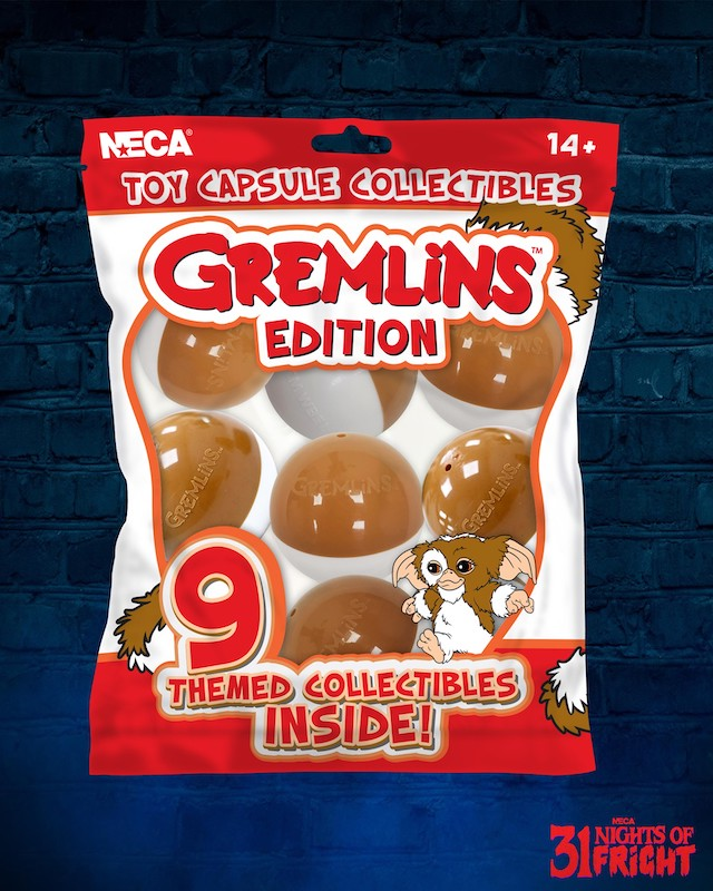 NECA Toys 31 Nights of Fright Reveal – Gremlins Blind Packaged Capsule Collection