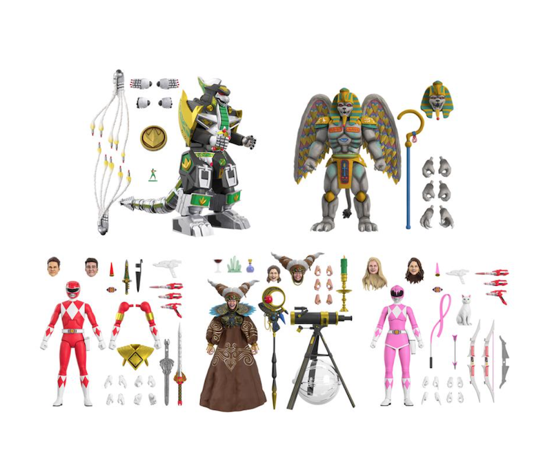 Super7 Mighty Mophin Power Rangers Ultimates Wave 2 Figure Pre-Orders