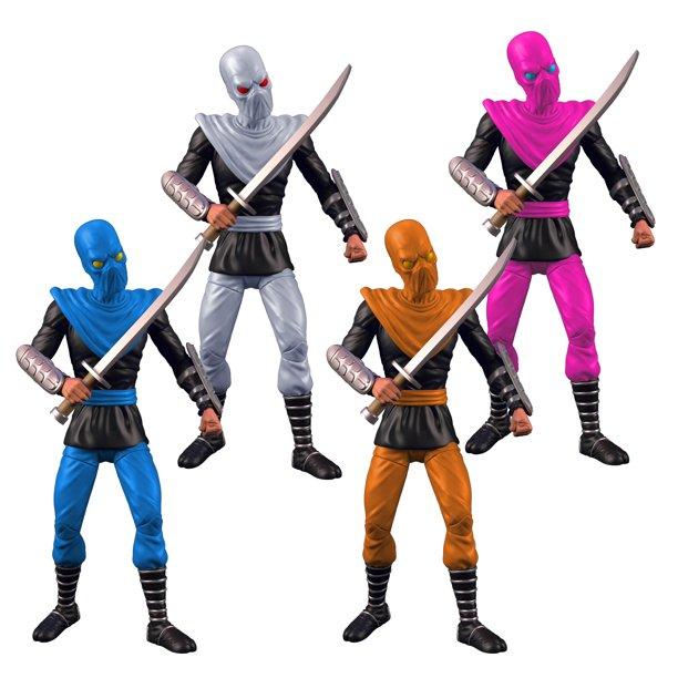 The Loyal Subjects Teenage Mutant Ninja Turtles Foot Soldiers 4-Pack Pre-Orders At Wal-Mart