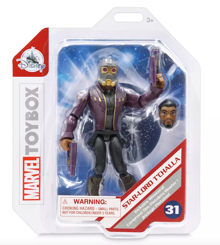 Disney Store Exclusive – Marvel Toy Box Star-Lord T'Challa Figure Available Now