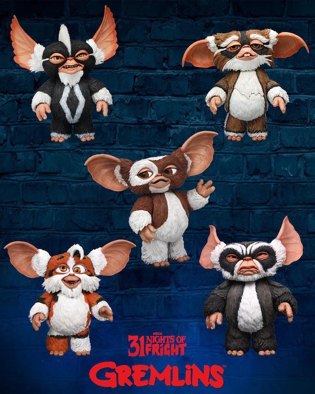 NECA Toys 31 Nights of Fright Reveal – Gremlins Punk Mogwai & More