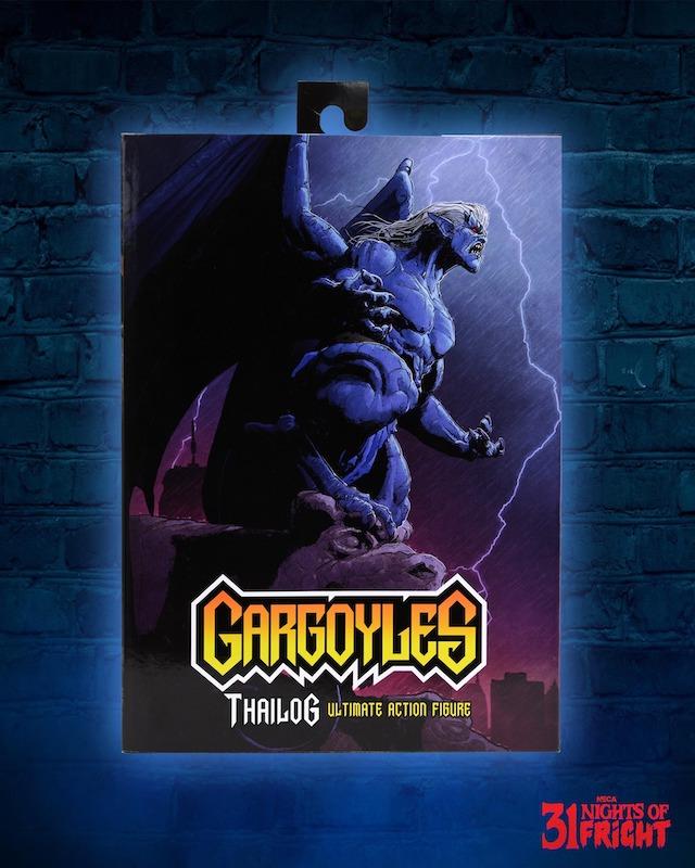 NECA Toys 31 Nights of Fright Reveal – Gargoyles Ultimate Thailog Figure Packaging