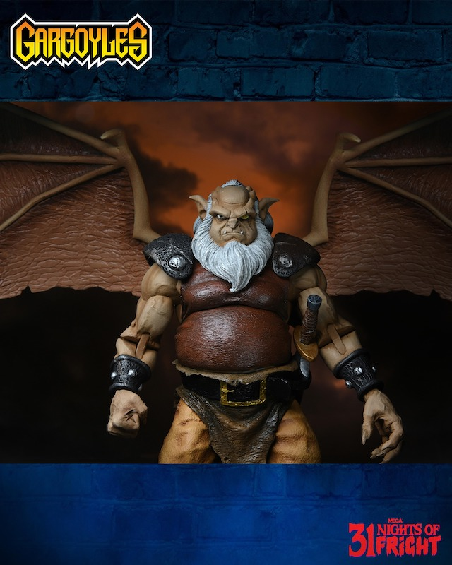NECA Toys 31 Nights of Fright Reveal – Gargoyles Hudson Figure