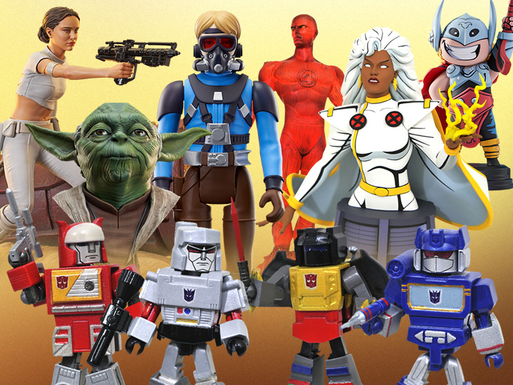 Diamond Select Toys Solicitations for March/April 2022 – Star Wars, Marvel & Transformers