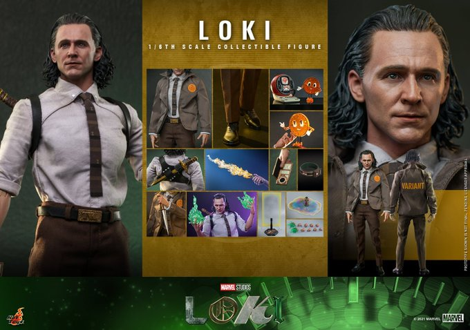Hot Toys Disney+ Loki Series – Loki & Sylvie Sixth Scale Figures Pre-Orders