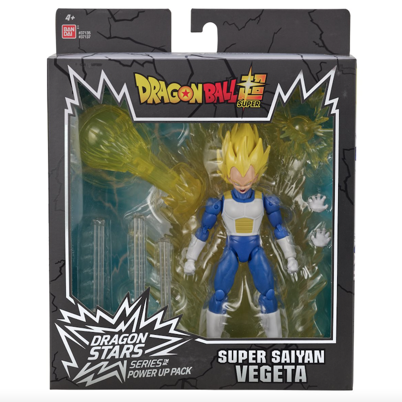 Dragon Ball Super Dragon Stars Power-Up Pack Super Saiyan Goku & Vegeta Figures Available Now