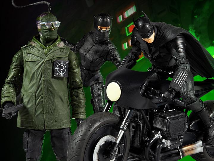 McFarlane Toys The Batman DC Multiverse Wave 1 & Batcycle Pre-Orders