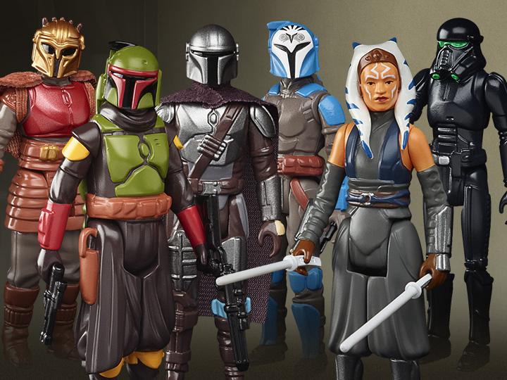 Hasbro Star Wars: The Mandalorian 3.75″ Retro Wave 2 Figures Pre-Orders