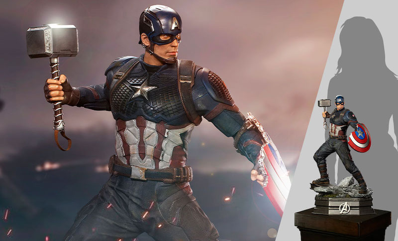 Iron Studios – Avengers: Endgame – Captain America 1/4 Scale Statue Pre-Orders