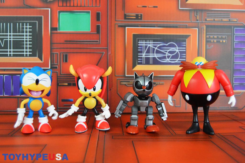 Jakks Pacific Sonic the Hedgehog 4″ Wave 5 Figures Review