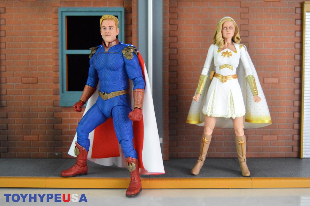 NECA Toys The Boys – Homelander & Starlight Figures Review
