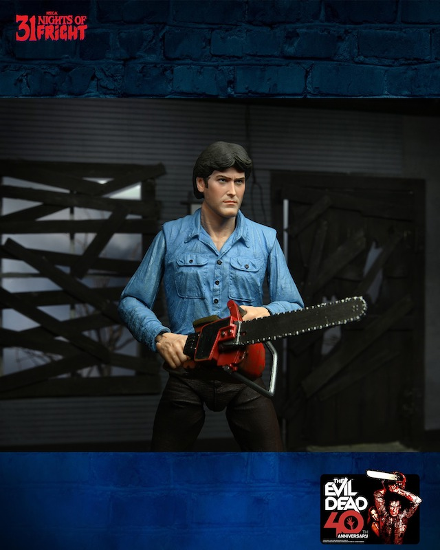 NECA Toys 31 Nights of Fright Reveal – Ultimate Ash Figure