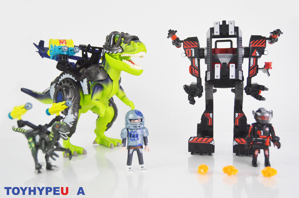 Playmobil 70624 Dino Rise T-Rex: Battle of the Giants Set Review