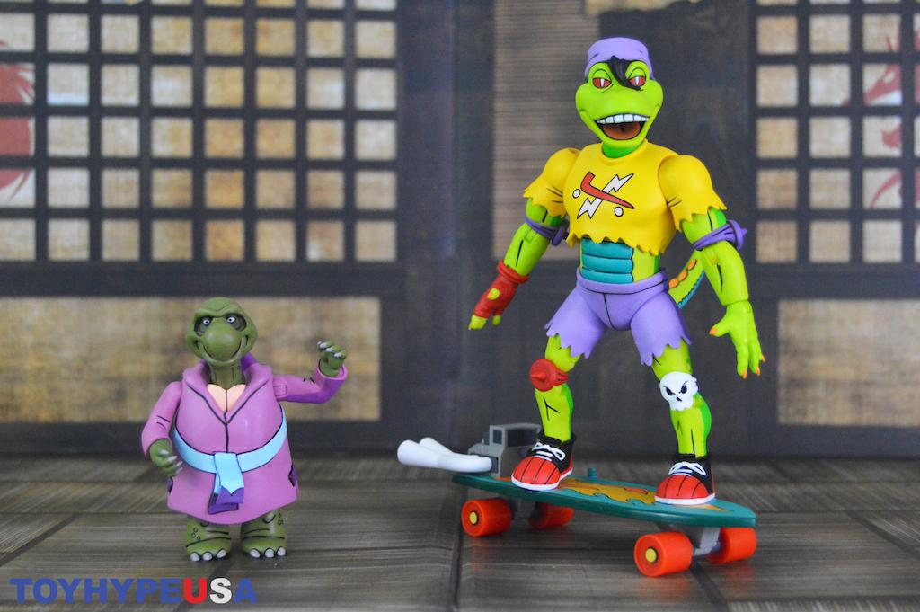 NECA Toys Teenage Mutant Ninja Turtles Mondo Gecko & Kerma Figures Review