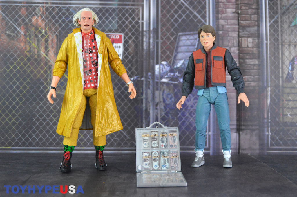 NECA Toys Back to the Future Part II Ultimate Doc Brown 2015 Figure Review
