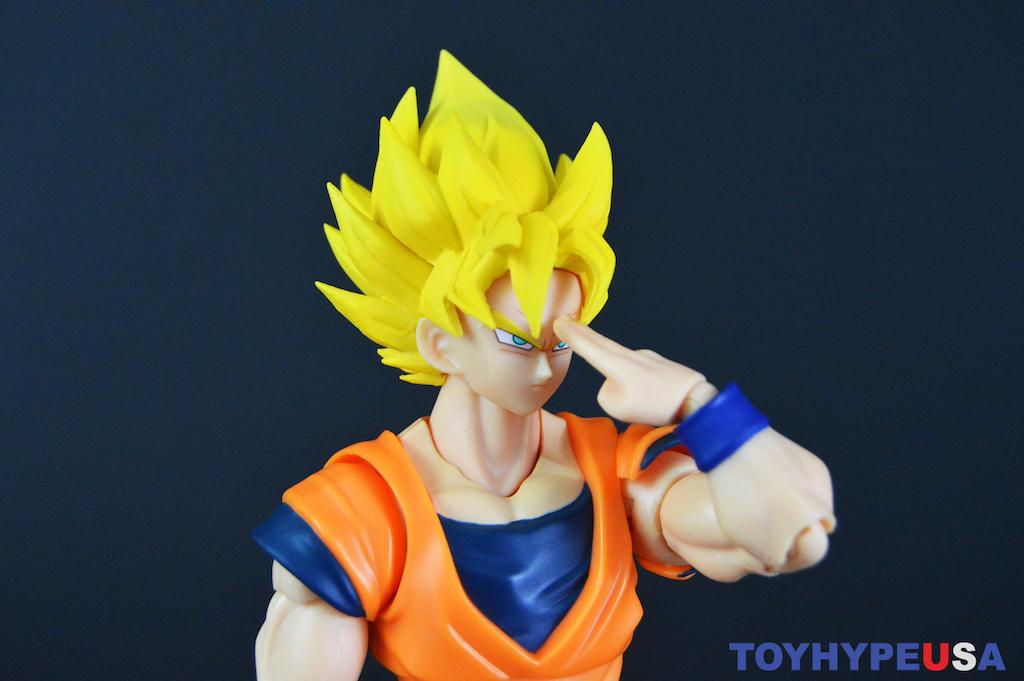 S.H. Figuarts Dragon Ball Z Super Saiyan Full Power Goku Figure Review