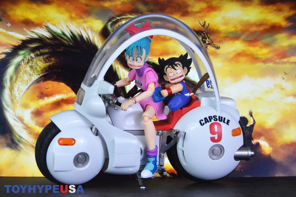 S.H. Figuarts Dragon Ball Bulma's Capsule No. 9 Bike Vehicle Review