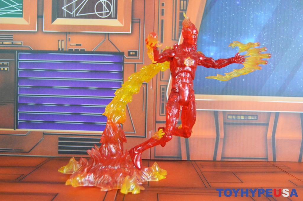 Diamond Select Toys Marvel Select Human Torch Figure Review