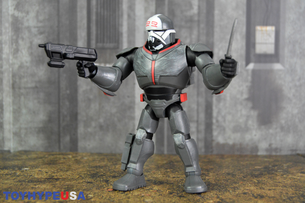 Disney Store Exclusive – Star Wars: The Bad Batch – Toy Box Wrecker Figure Review
