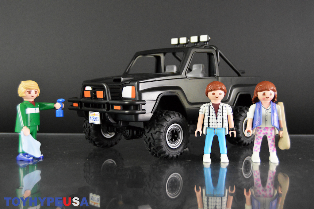 Playmobil 70633 Back to the Future Marty's Pickup Truck Set Review