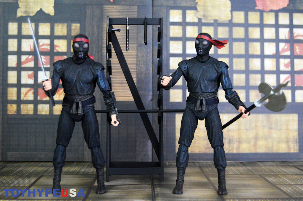 NECA Toys Teenage Mutant Ninja Turtles Movie Walmart Exclusive Foot Soldier 2-Pack Figures Review