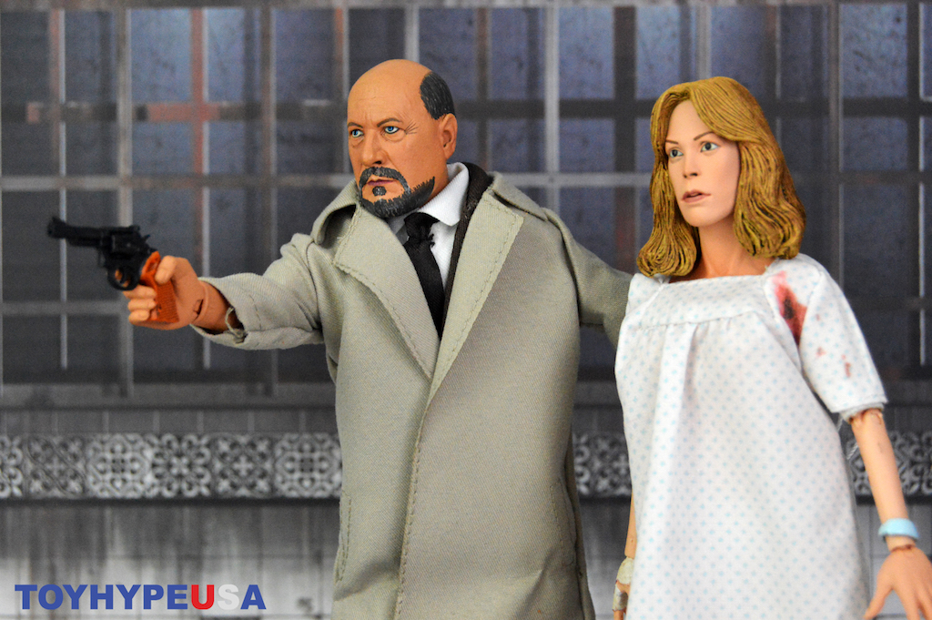 NECA Toys Halloween II – Doctor Loomis & Laurie Strode Figure 2-Pack Review